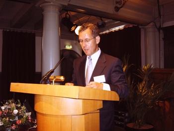 Voorzitter Jan de Vries