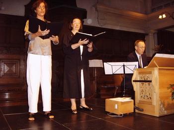 Leenke de Lege, Gloria-Jeanne de Meyer en Erik Visser
