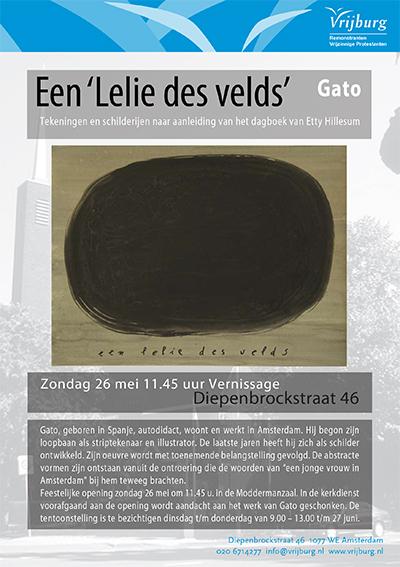 Flyer Tentoonstelling Gato mei 2013