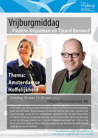 Flyer Vrijburgmiddag mei 2013